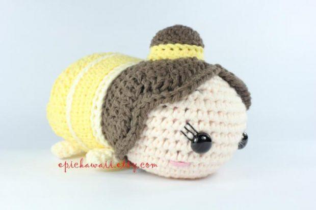 Belle Tsum Tsum Crochet Amigurumi Doll by Epickawaii