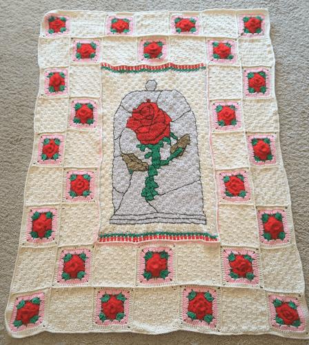 Disney Inspired 'Rose Blanket' Pattern by ShoppysGifts