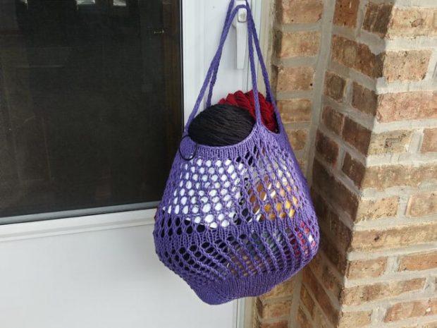 Farmer's Market Mesh Bag Pattern by DesignBcd