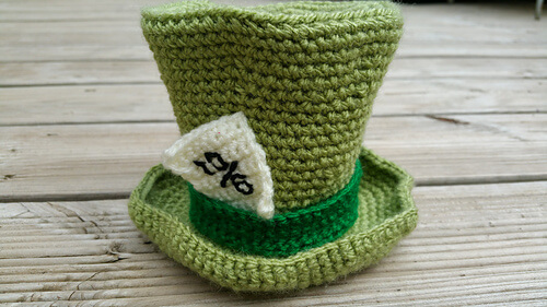 Mad Hatter's Hat Pattern by Bluebird and Daisy