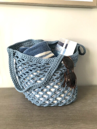 Mesh Bag Pattern by Candaces Closet