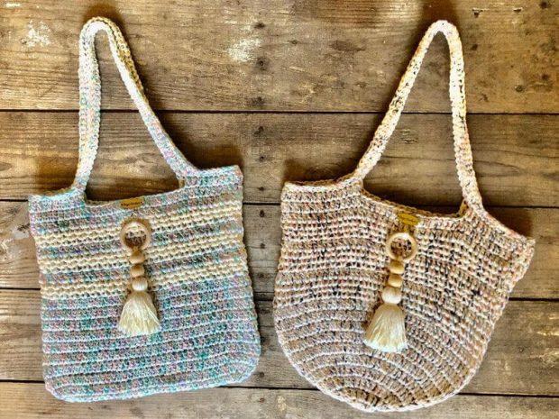 Mesh Market Bag by Days Crochet NC