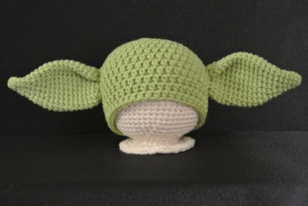 Yoda Hat Pattern by WholeKnitandCaboodle