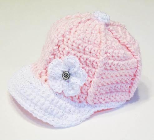 Crochet Baseball Cap Pattern by Bowtykes