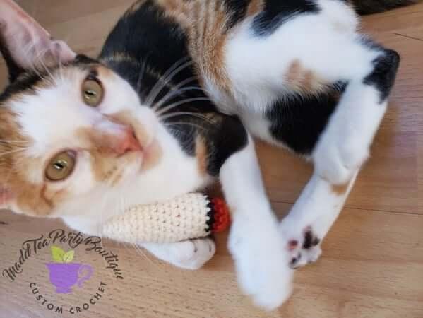 Crochet Catnip Doobie Pattern by Madd Tea Party Boutique