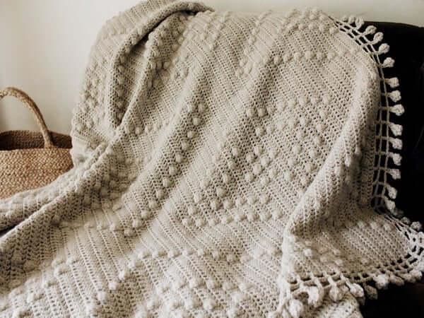 Domino Crochet Bedspread Pattern by Two Of Wands