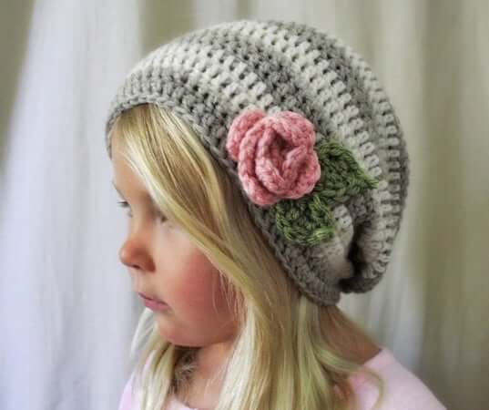 Haven Slouchy Beret Crochet Pattern by Naturally Nora Crochet
