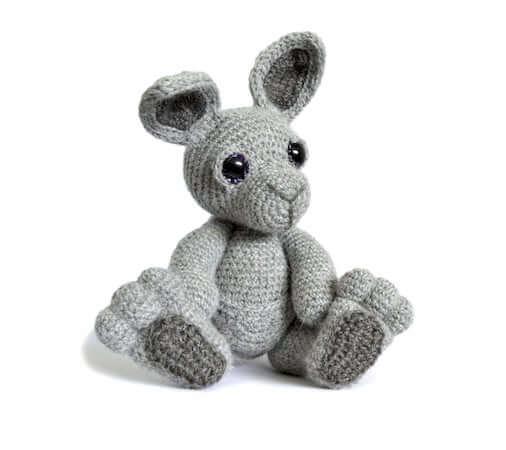 Kangaroo Amigurumi Crochet Pattern by Patchwork Moose