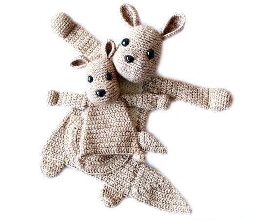 Ragdoll Crochet Kangaroo Pattern by Ala Sascha