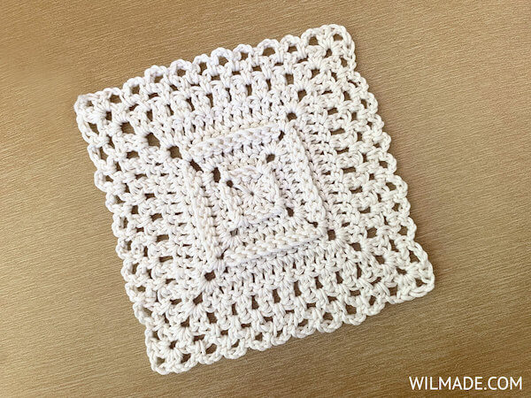 Love Your Granny Square Crochet Pattern by Wilmade