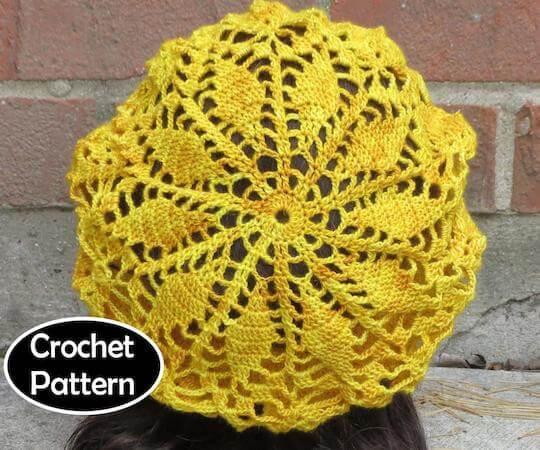 Seraphina Beret Crochet Pattern by Alyse Crochet