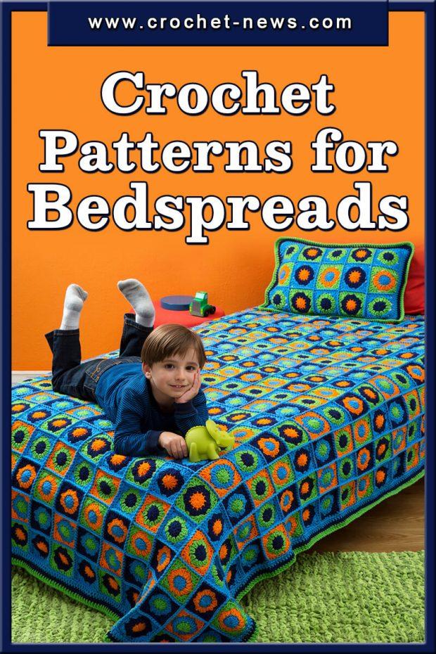 CROCHET PATTERNS FOR BEDSPREADS