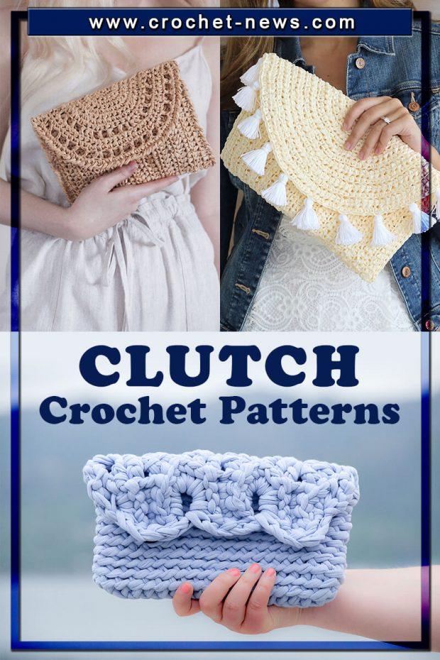 CROCHET CLUTCH PATTERNS