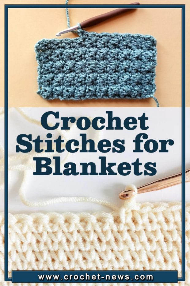 CROCHET STITCHES FOR BLANKETS