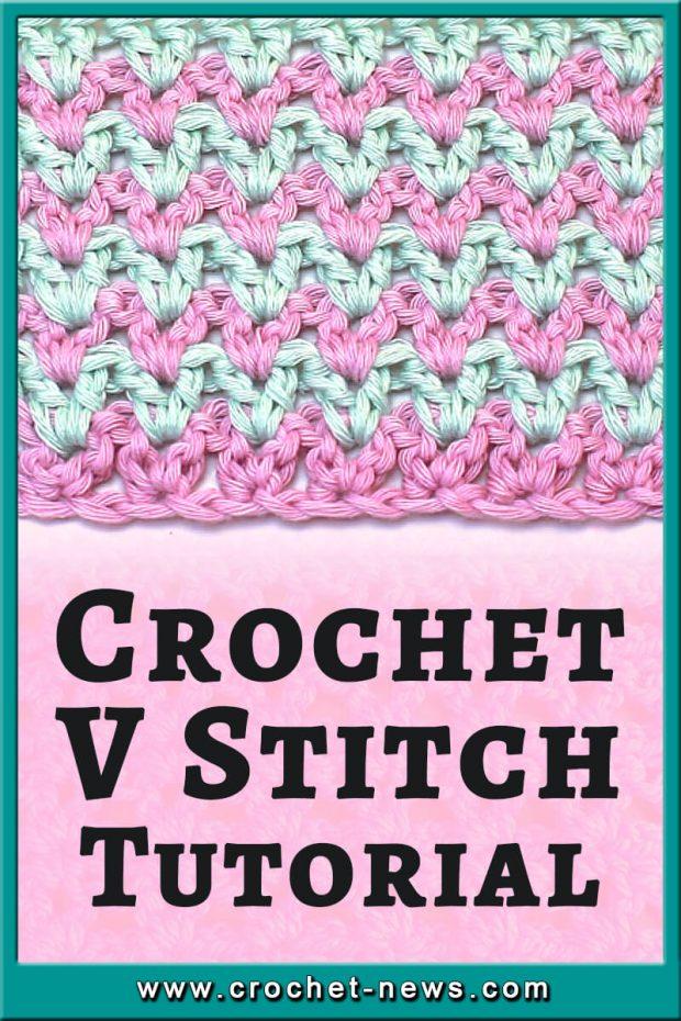 CROCHET V STITCH TUTORIAL