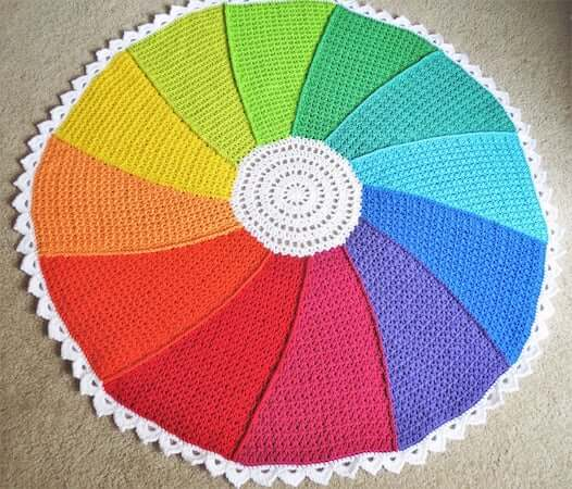 Color Whirl Blanket Crochet Pattern by Alyse Crochet