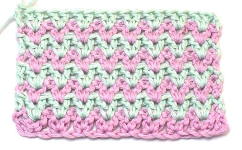 Crochet V Stitch