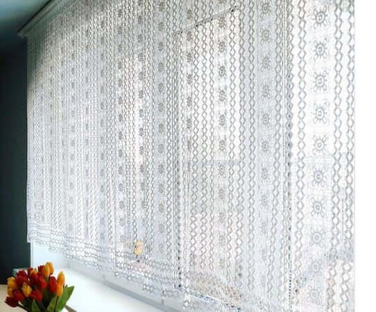 Crochet Lace Curtain Pattern by Tulipolga Shop