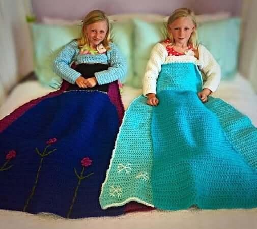 Frozen Princess Dress Crochet Pattern by Sarah Beth's Crochet