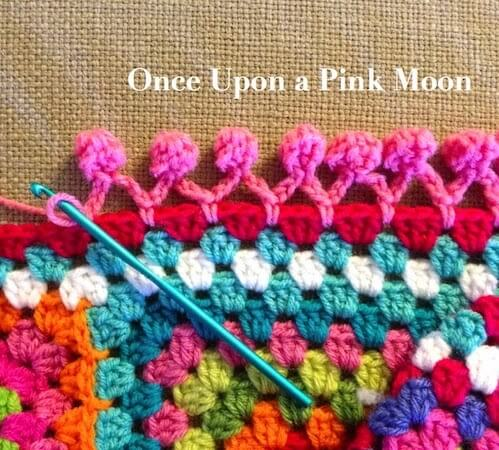 Pom Pom Edge by Once Upon A Pink Moon