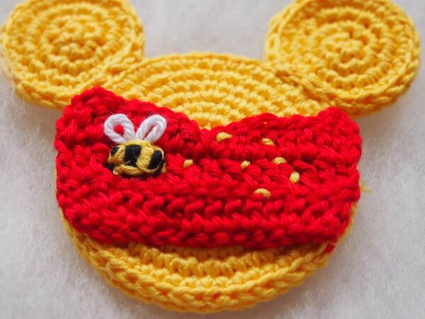 Crochet Winnie The Pooh Mouse Pattern by Olya T Cozy Crochet