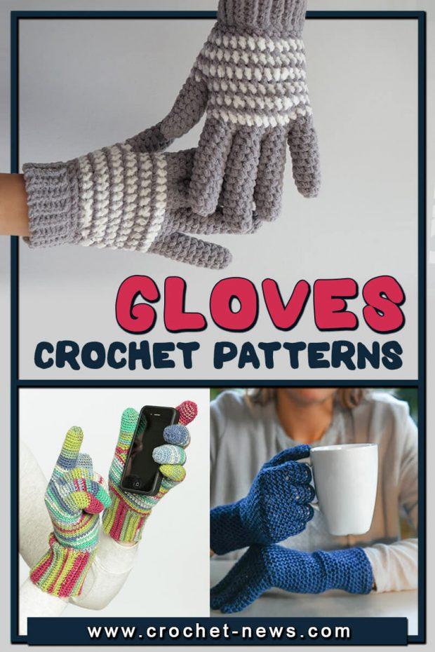 CROCHET GLOVES PATTERNS