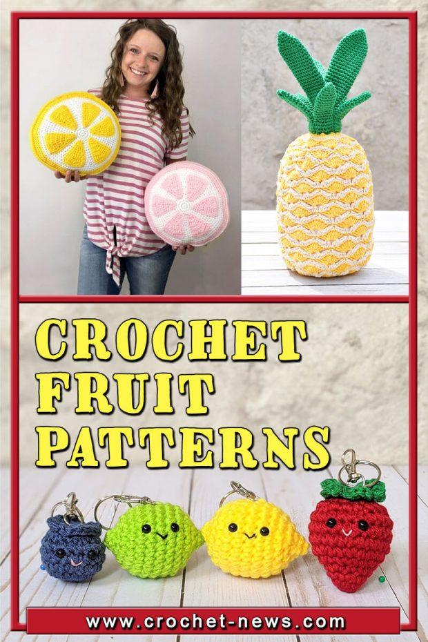 CROCHET FRUIT PATTERNS