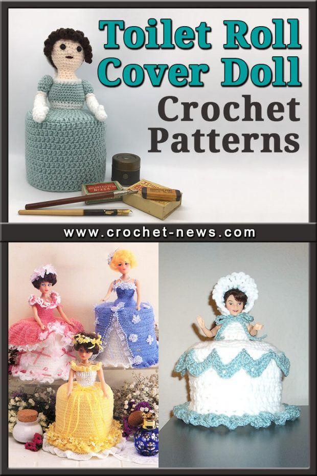 TOILET ROLL COVER DOLL CROCHET PATTERNS