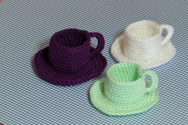 Crochet Cup and Saucer Pattern by etty2504