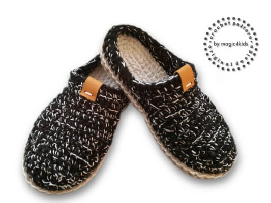 Crochet Loafers for Men by Magic4kids