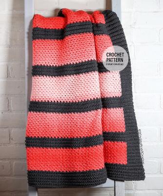 Crochet Ombre Blanket Pattern