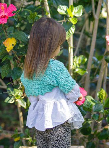 Lacy Crochet Bolero Pattern by Salty Pearl Crochet