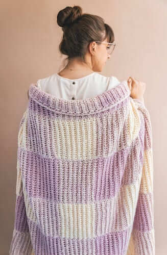 The Homemaker Crochet Throw Pattern by Sewrella