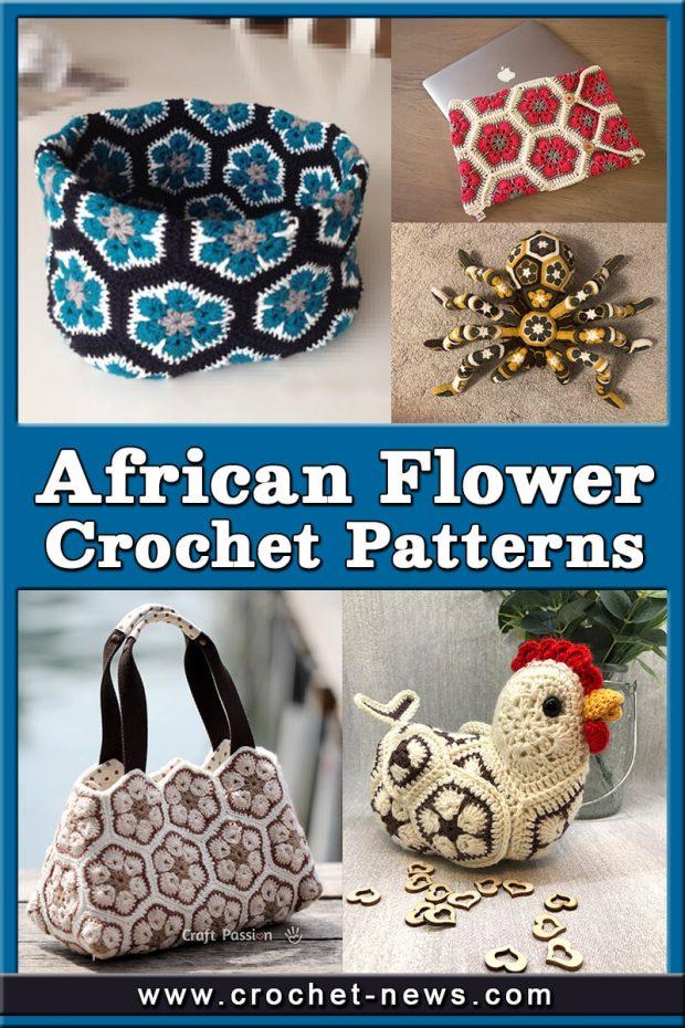 AFRICAN FLOWER CROCHET PATTERNS