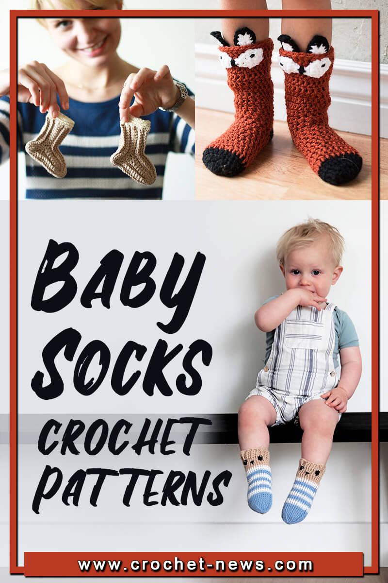 CROCHET BABY SOCKS PATTERNS