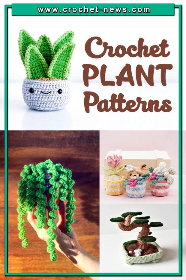 CROCHET PLANTS PATTERNS