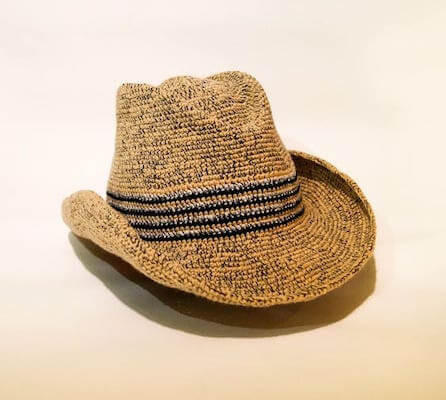 Cowboy Crochet Mens Hat Pattern by Step By Step Patterns
