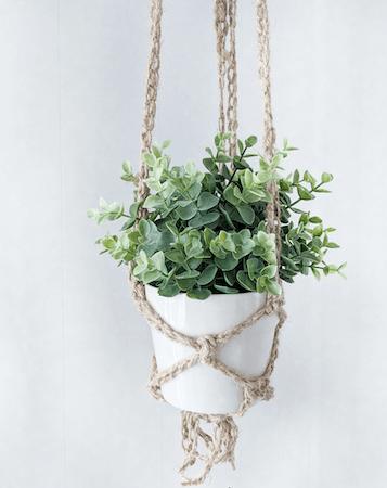 Crochet Plant Hanger Pattern by Jewels And Jones