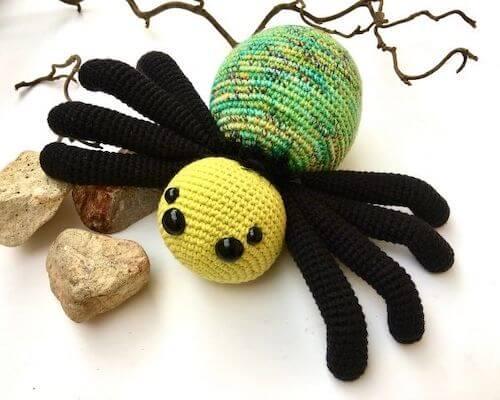 19. Free Crochet Spider Pattern by Cuddly Stitches Craft
