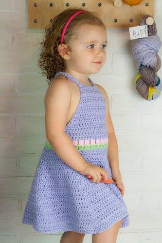 Dress Free Crochet Tulip Pattern by Winding Road Crochet
