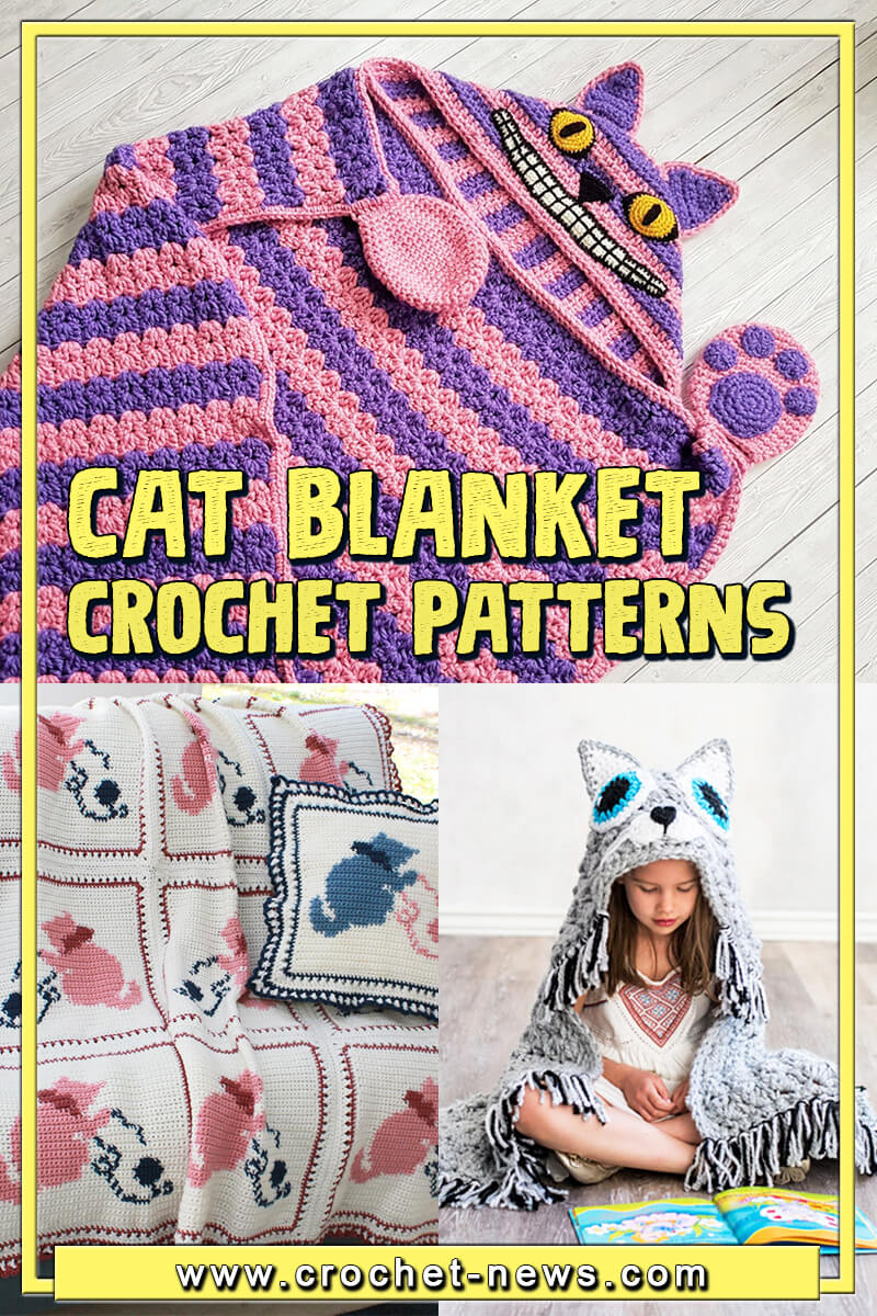 CROCHET CAT BLANKET PATTERNS