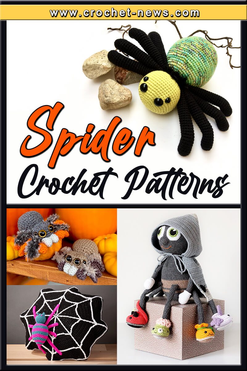 CROCHET SPIDER PATTERNS
