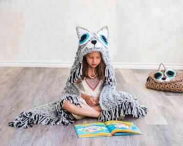 Crochet Cat Blanket Pattern by MJs Off The Hook Designs