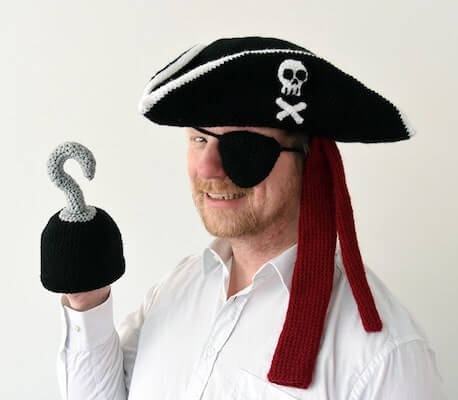 Crochet Pirate Set Pattern by Vliegende Hollander